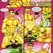 ..:: Uncensored Drawn Gays ::..