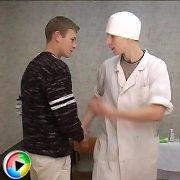 CrazyDoctors medical gay fetish video