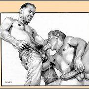 Gay Drawings - hot gay pics